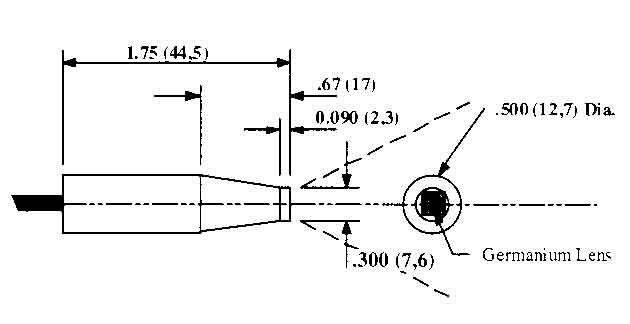 Irt C 2g J 37c Non Contact Temperature Sensor From Exergen