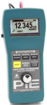 Milliamp and Voltage Calibrator, Milliamp Calibrator, Voltage Calibrator, Handheld, milliamp, voltage, calibrator, 532, Loop Diagnostic, mA, milliamp, Practical Instruments, PIE, Calibrators