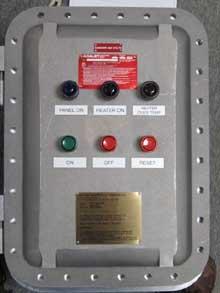 Explosion Proof Custom Control Panels
